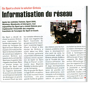 Article go sport